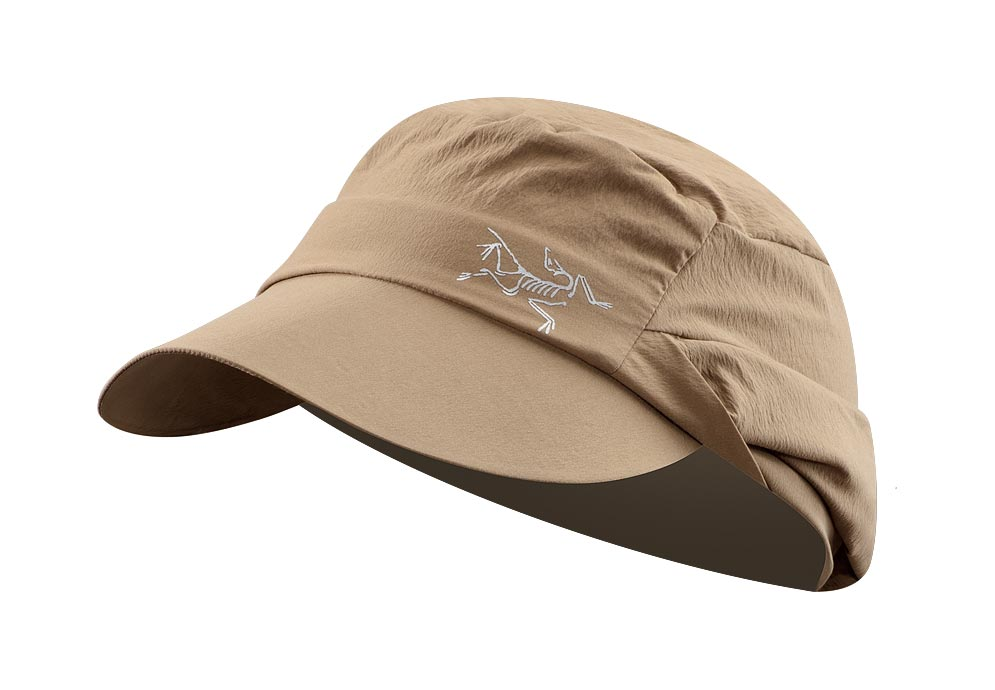 Arcteryx Nubian Brown Spiro Cap - New