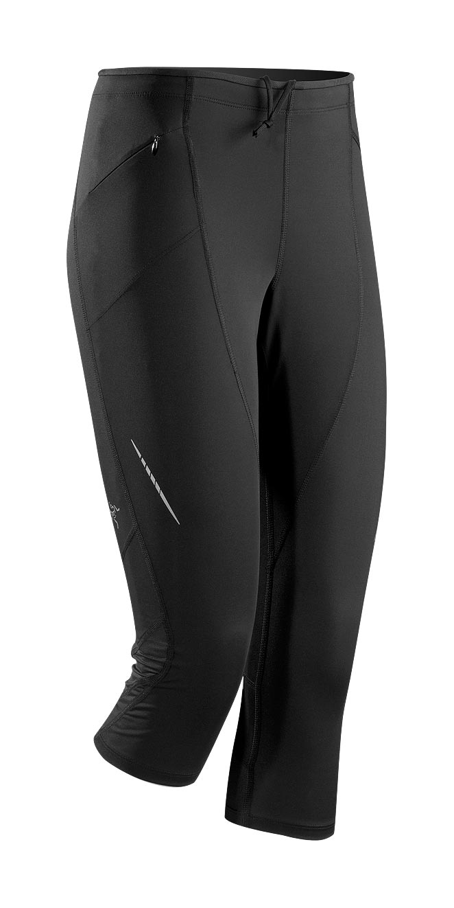 Arcteryx Black Cita 3/4 Tight